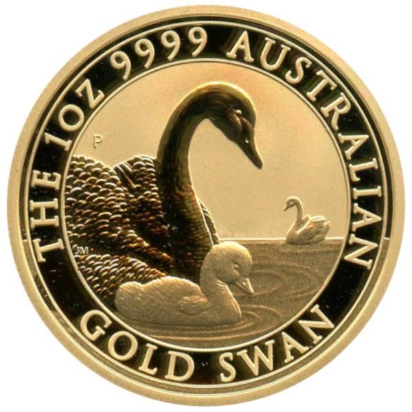 Perth Mint Schwan 2019 - Gold