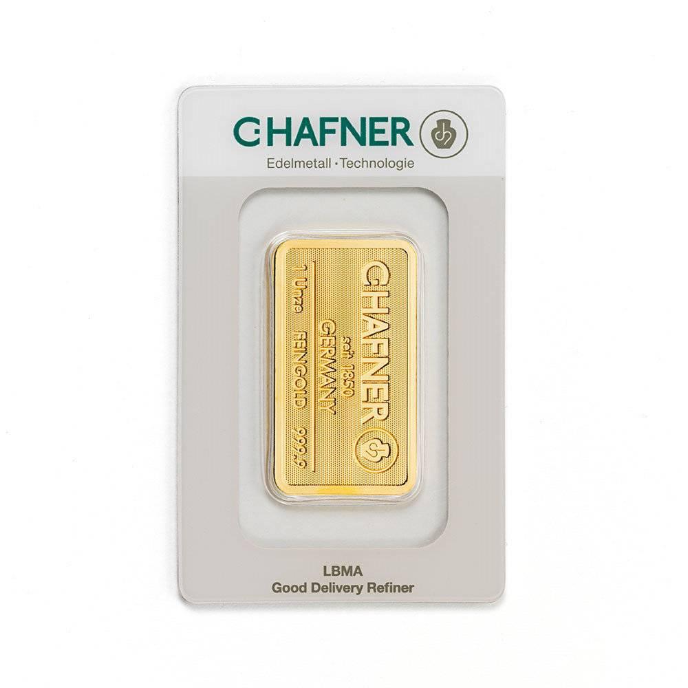 Goldbarren von C.HAFNER